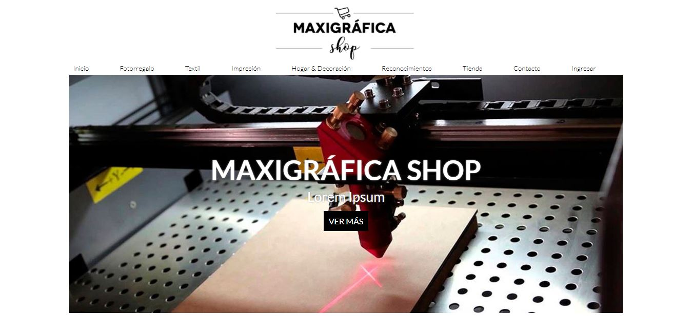 Maxigráfica Shop